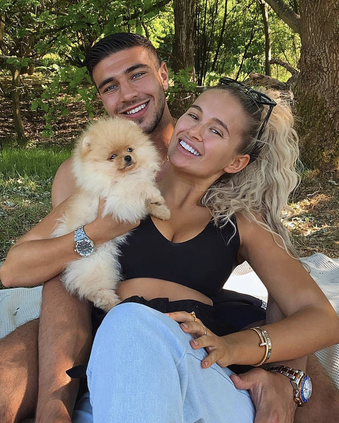 Molly-Mae and Tommy were slammed online after it was revealed that the puppy was being imported from Russia.