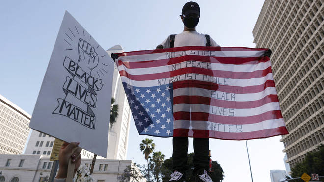 Los Angeles protesters are taking a stand against racism and police brutality