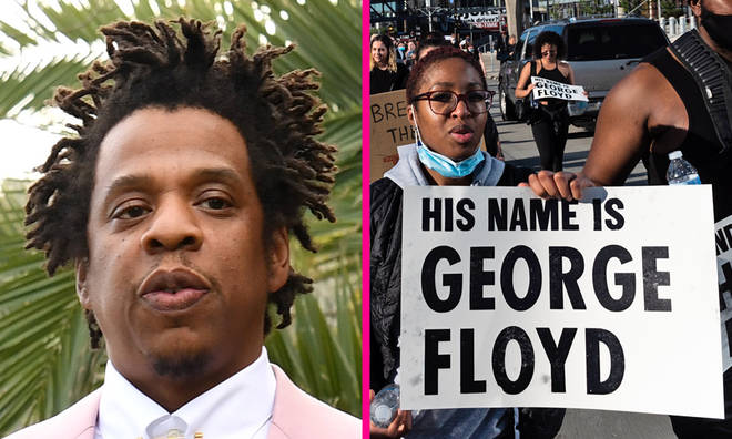 Jay Z supports George Floyd protests with full-page newspaper advert