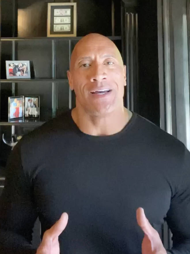 The Rock called out Trump's 'lack of compassion' following the death of George Floyd.