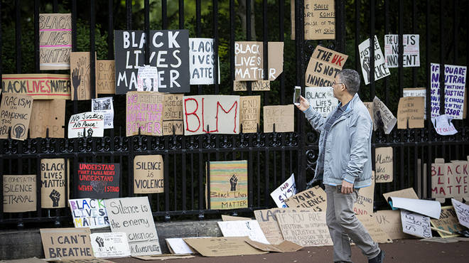 BLM protests have taken place across the globe following George Floyd's death