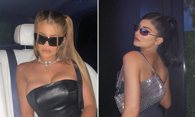 Kylie was spotted partying until 1am at Los Angeles nightclub Bootsy Bellows.