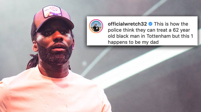 Wretch 32 has shared footage of his 62-year-old father being tasered by police