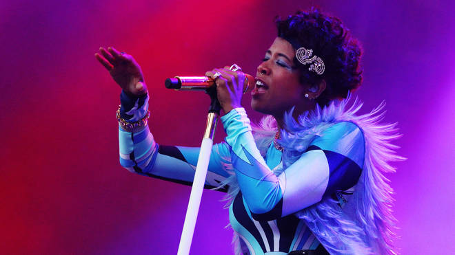 Kelis performs on stage during the Good Vibrations music festival at Centennial Park on February 12, 2011 in Sydney, Australia.