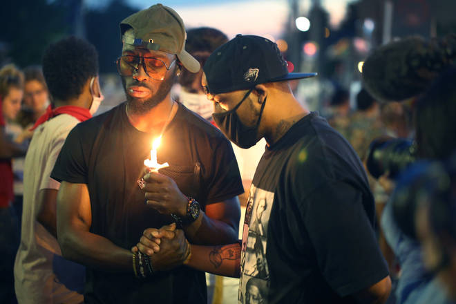 Protests continue around the world as protesters call for an end to police brutality and racism in the wake of Floyd's death.