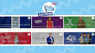 Global's Make Some Noise Auction 2020