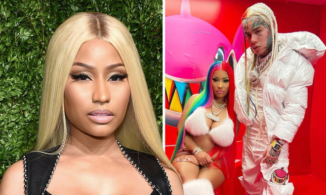 Nicki Minaj tweeted and deleted a response to the backlash she faced for working with Tekashi 6ix9ine.