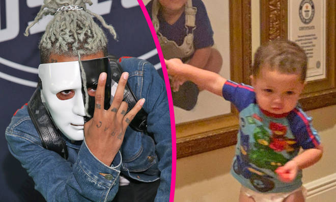 "XXXTentacion&squot;s son is his ""twin"" in new photo"