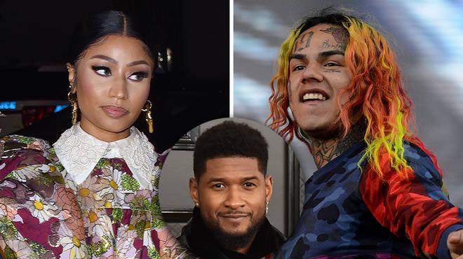 Nicki Minaj throws shade at Usher in new song lyrics