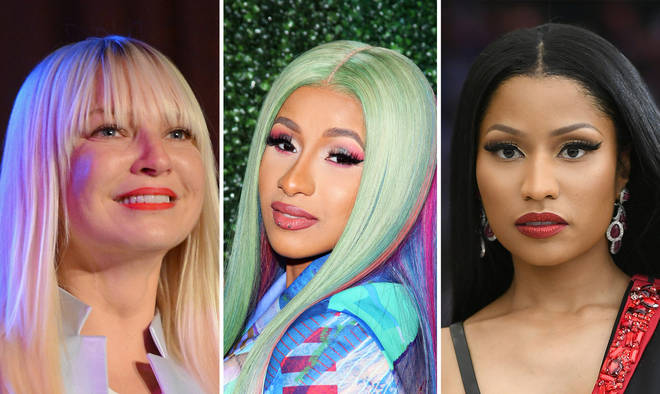Sia faced backlash after mixing up Cardi B and Nicki Minaj in a tweet.