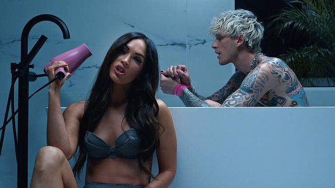 Megan starred in Machine Gun Kelly's music video for 'My Bloody Valentine'.