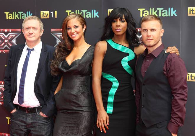 Tulisa was a judge on The X Factor along with Kelly Rowland, Gary Barlow and Louis Walsh