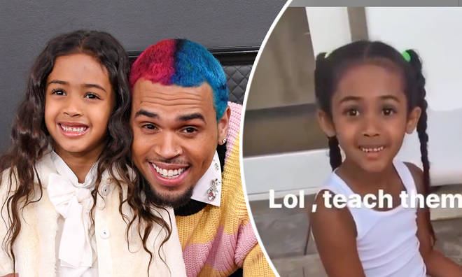 Chris Brown's daughter Royalty supports Black Lives Matter in new video