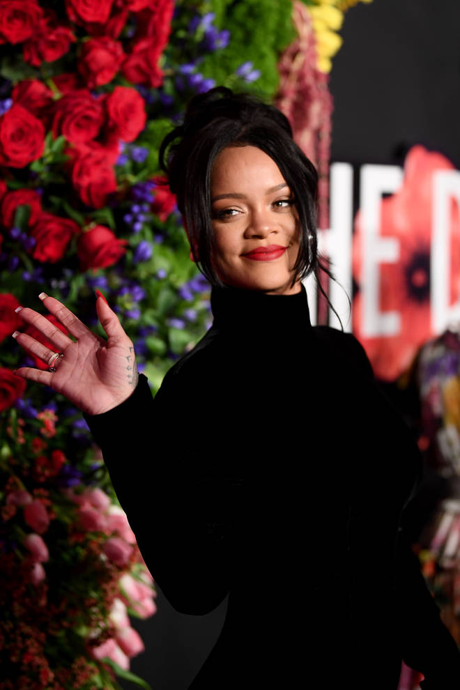 Rihanna hosts an annual Diamond Ball for The Clara Lionel Foundation