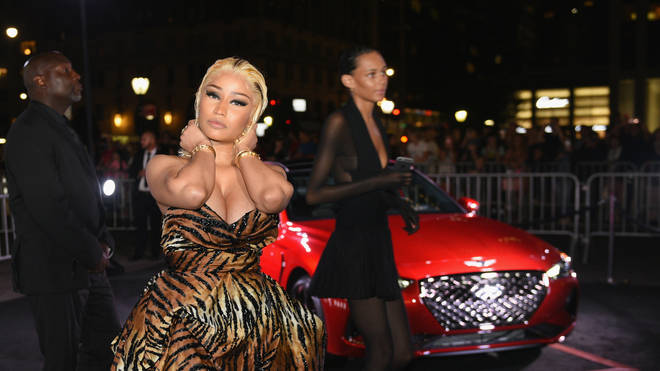 Nicki Minaj attends as Harper's BAZAAR Celebrates 'ICONS By Carine Roitfeld' at the Plaza Hotel on September 7, 2018 in New York City.