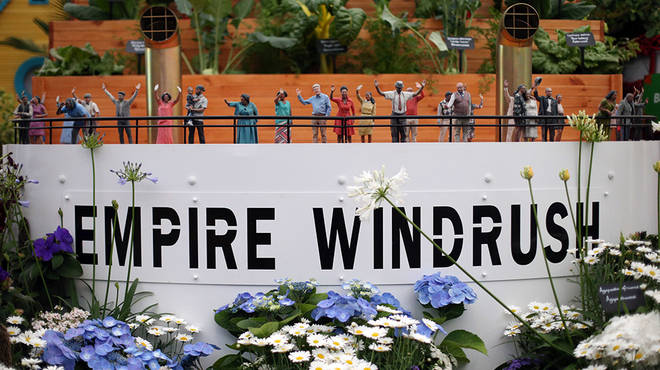 Empire Windrush arrived to help the UK rebuild itself from the World War