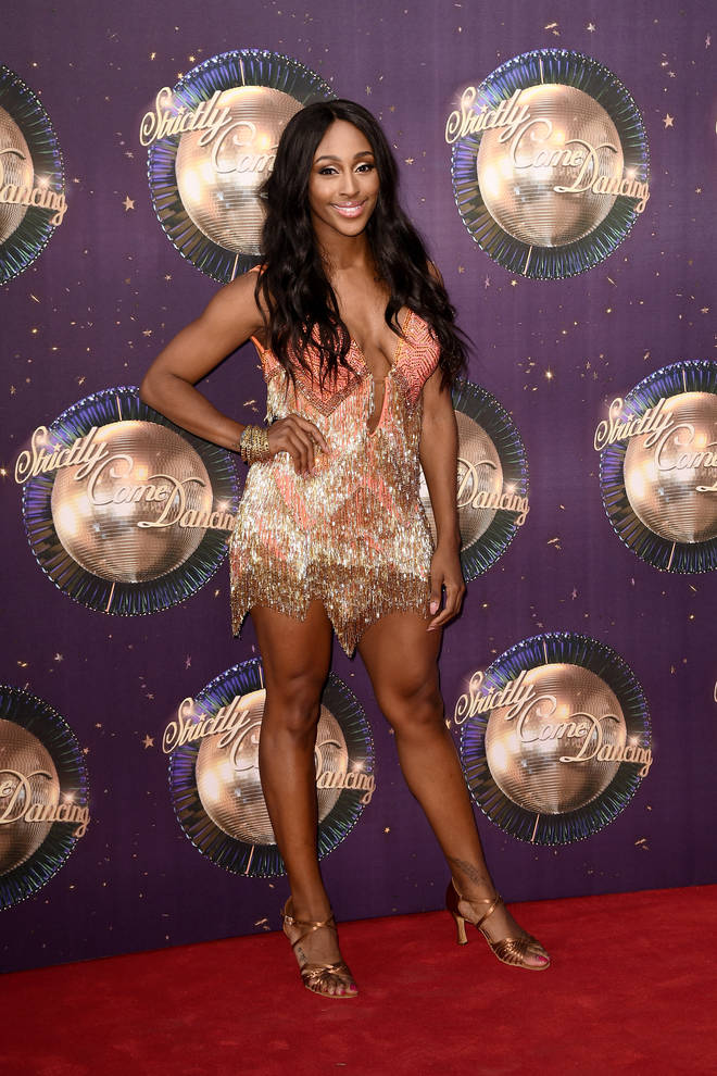 Alexandra Burke won the X Factor in 2008 and took part in Strictly Come Dancing in 2017