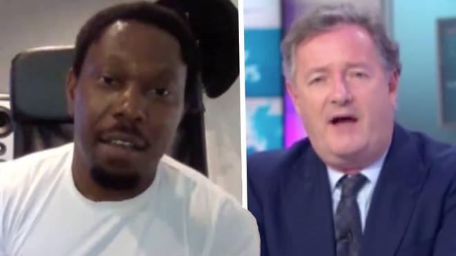 Dizzee Rascal responds after Piers Morgan questions him on Black Lives Matter