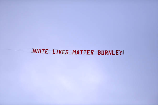 Burnley FC issued a statement condemning the message.