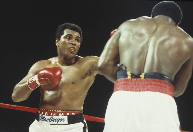 Muhammad Ali is one of the greatest boxers in history