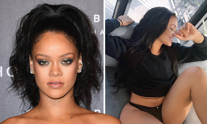 Rihanna's fans were confused after her 'look-a-like' started trending on Twitter.