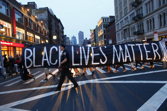 Black Lives Matter protests have happend across the world