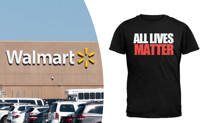 Walmart facing backlash for selling 'All Lives Matter' t-shirts