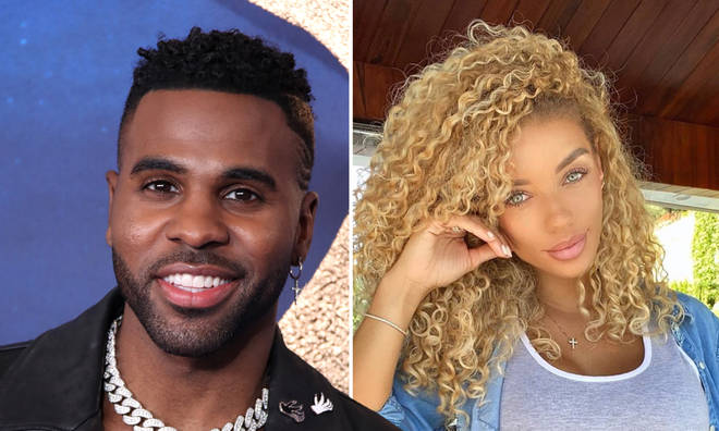 Jason Derulo and his girlfriend Jena Frumes have confirmed their romance.