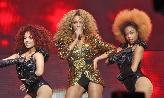 Beyonce performed an incredible headline set at Glastonbury 2011