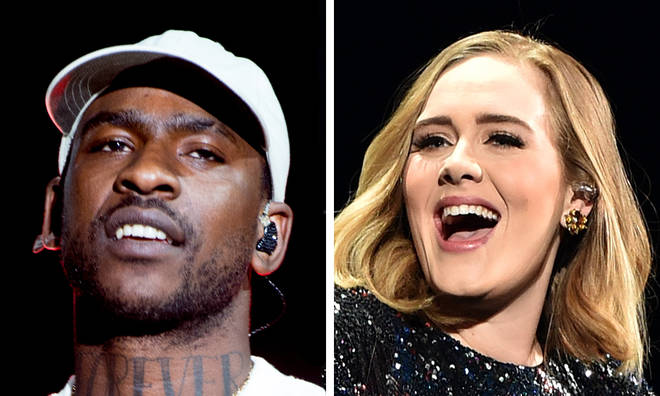 Skepta mocks Adele with Instagram joke