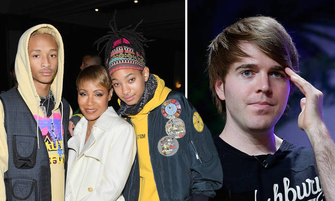 Jada Pinkett-Smith and Jaden Smith spoke out against YouTuber Shane Dawson over the disturbing video involving a poster of Willow Smith.