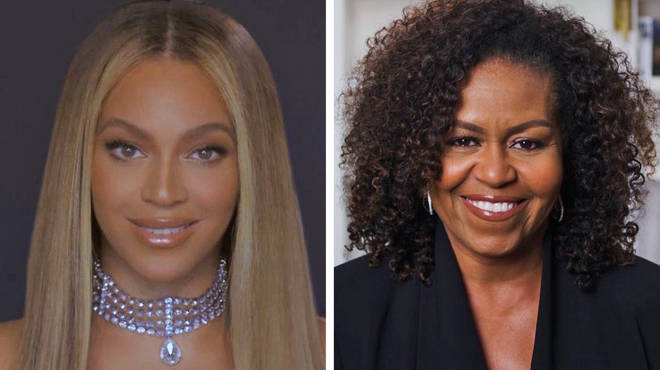 Beyoncé receives Humanitarian Award from Michelle Obama at BET Awards 2020