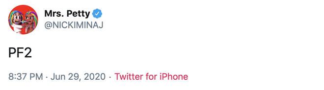 Is Nicki Minaj working on Pink Friday 2?