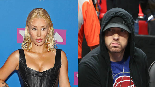 Iggy Azalea and Eminem