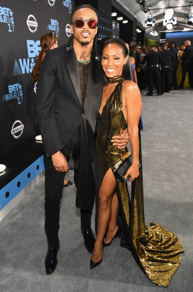 August Alsina and Jada Pinkett Smith attended the 2017 BET Awards together