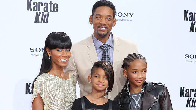 Will Smith and Jada Pinkett have children Jayden and Willow together