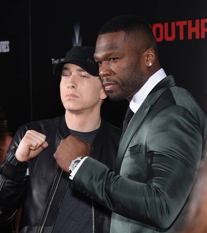Eminem and 50 Cent have have remained close friends throughout the years (pictured here in 2015).