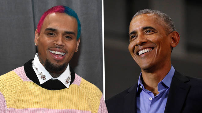 Chris Brown shares private DM to Barack Obama on Black Lives Matter
