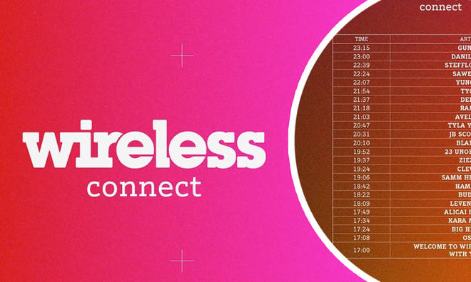 Wireless Connect performance set times