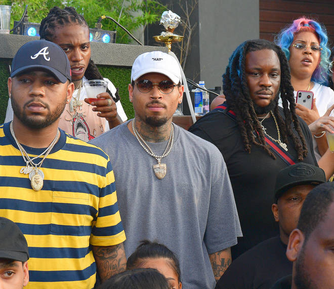 Jacquees and Chris Brown have been friends for years.