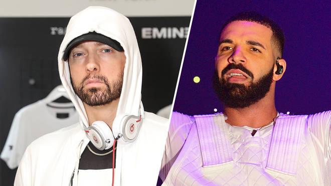 Eminem, Drake.
