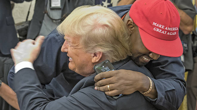 Kanye West and Donald Trump have worked together a number of times