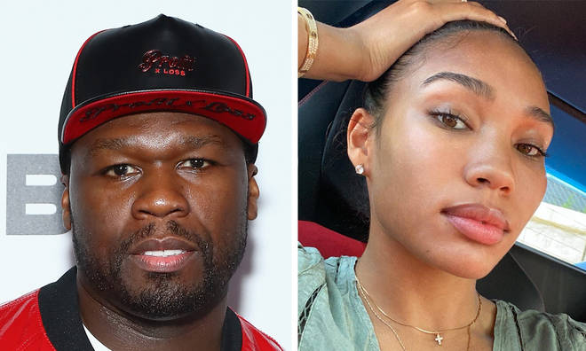 "50 Cent called out by girlfriend Cuban Link over ""angry black women"" comments"