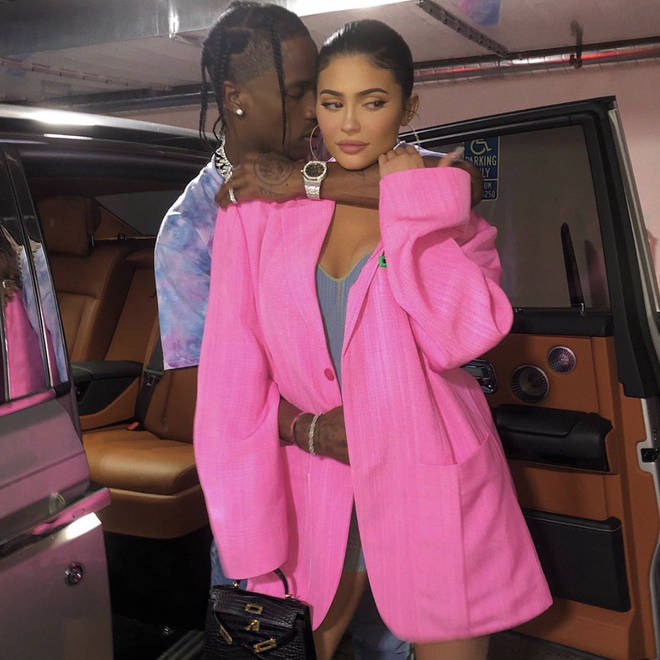 Kylie and Travis split up in September 2019 but have remained close while they co-parent their daughter Stormi.