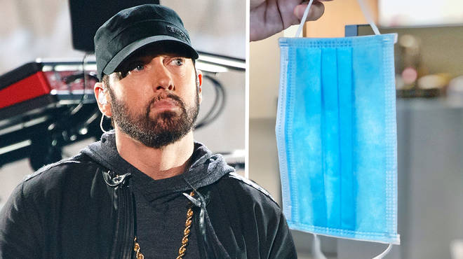Eminem has slammed people refusing to wear masks with new song lyrics