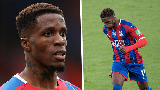 Crystal Palace footballer Wilfried Zaha exposes racist messages from Instagram user