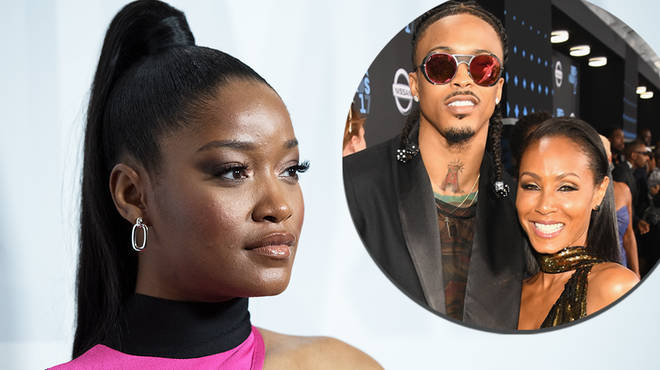 "Keke Palmer responds after August Alsina claims he ""curved"" her"