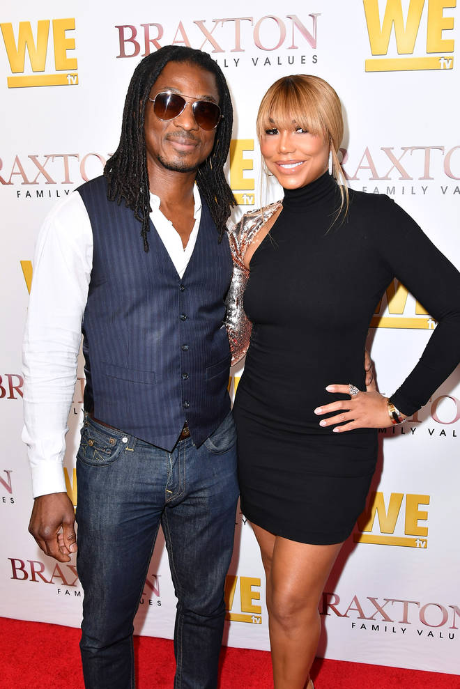 David Adefeso (Left) reportedly found Tamar Braxton (right) unresponsive in a hotel room