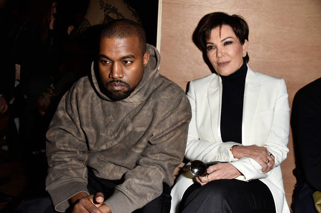 Kanye West posted screenshots of his messages to mother-in-law Kris Jenner.