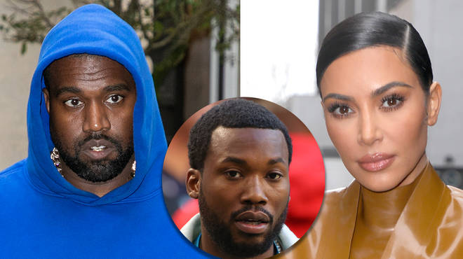 "Kanye West is ""trying to divorce"" Kim Kardashian for meeting Meek Mill"